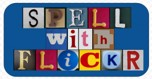 spell with flickr